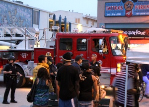 CAFirefighters com - Los Angeles Fire Department station and