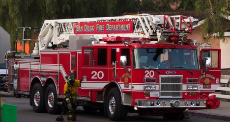CAFirefighters com - San Diego Fire Department station and