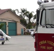 CAFirefighters com - Chula Vista Fire Department station and
